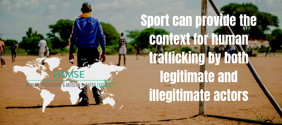 Sport can provide the context for human trafficking