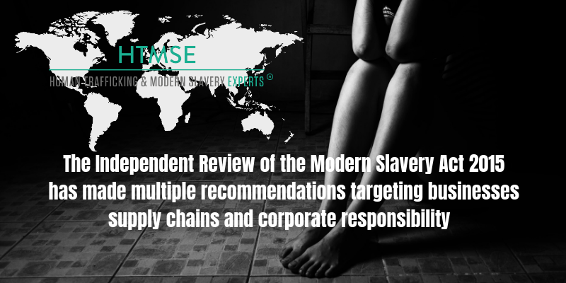 Independent Review Modern Slavery Act 2015